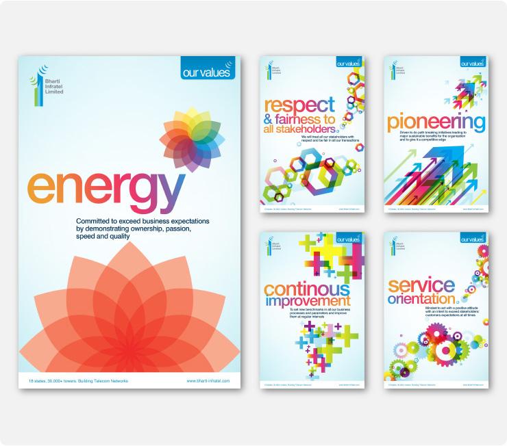 Energising Bharti Infratel's brand